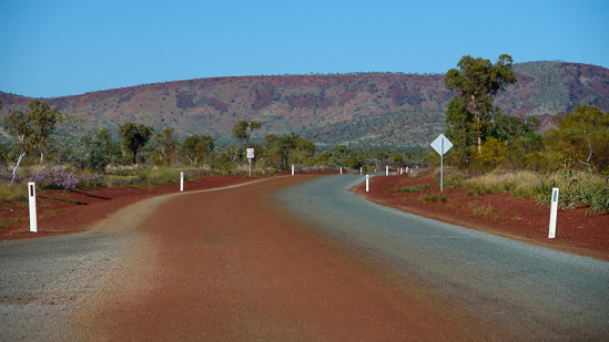 Leaving Karijini