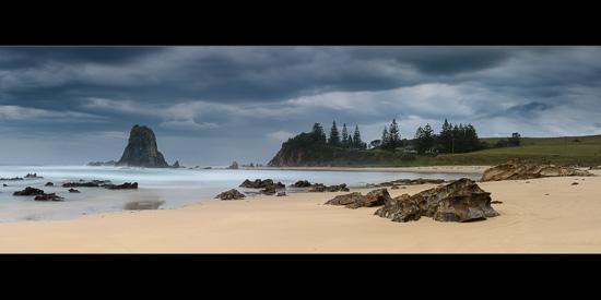 Stormbreaker - Glasshouse Rocks Panorama