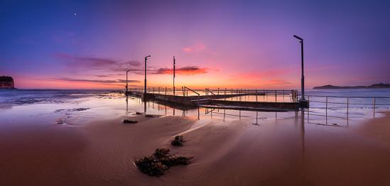 Morning Glow - Panorama at Mona Vale