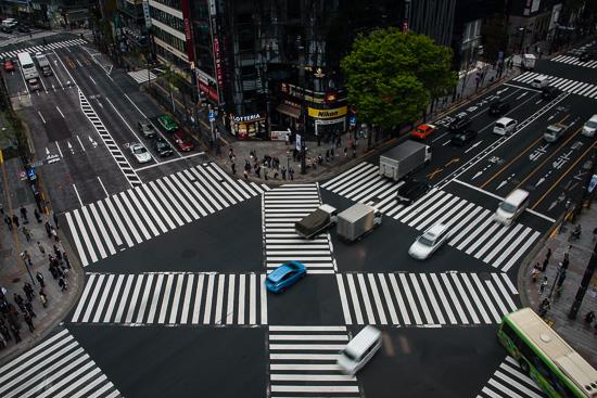 Ginza Crossings