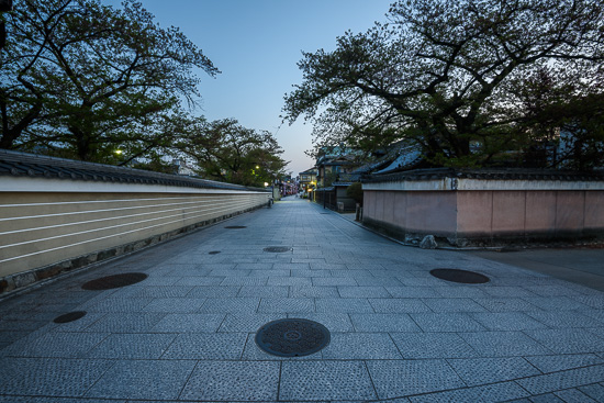 Gion at Dawn