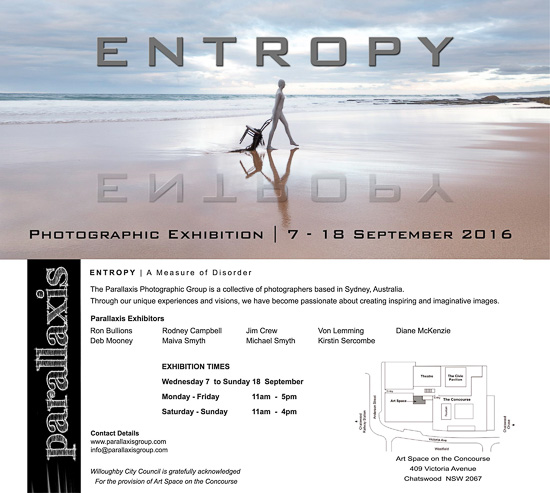 Entropy - A Photographic Exhibition