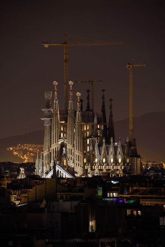 Sagrada @ Night
