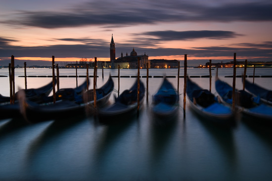 Venetian Gondola's