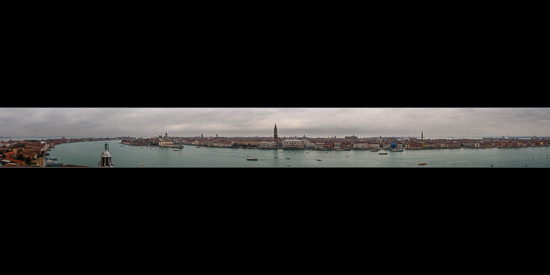 Panoramic View of Venice