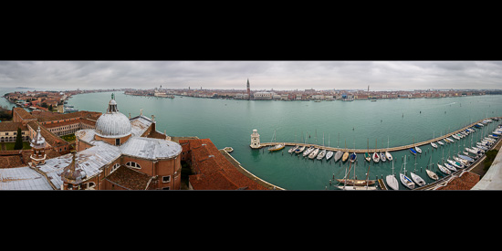 San Giorgio Maggiore to Venice