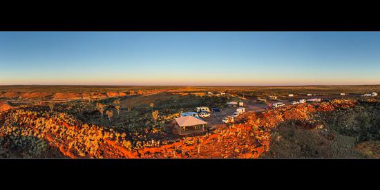 Ngumban Cliff Sunset