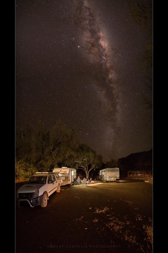 Sitting Under the Stars