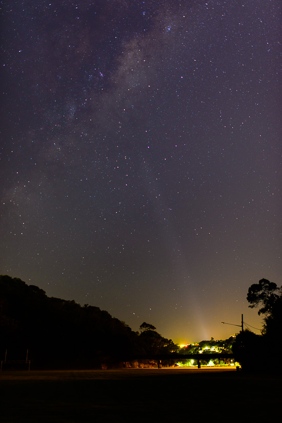 Northbridge Lighting the Milky Way