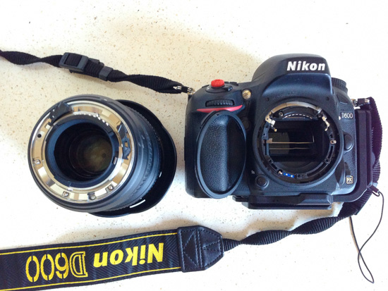 Nikon D600+16-35/4  VS  Rock... Fight!!!