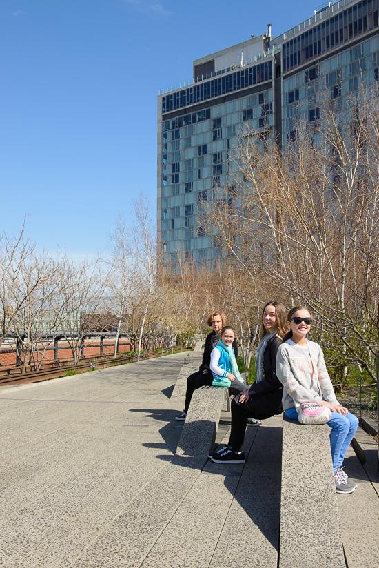 High Line Begins