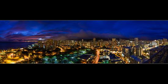 Waikiki from Level 26