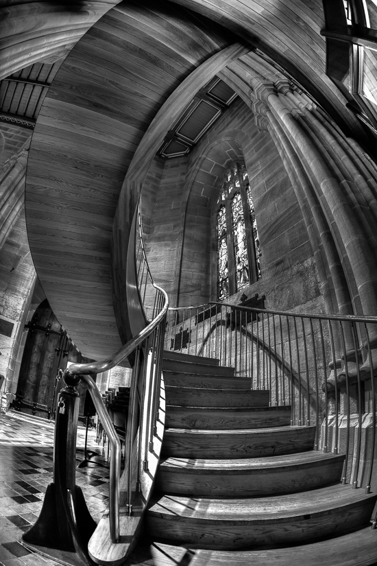 Inverse Curve - St Andrew's Cathedral