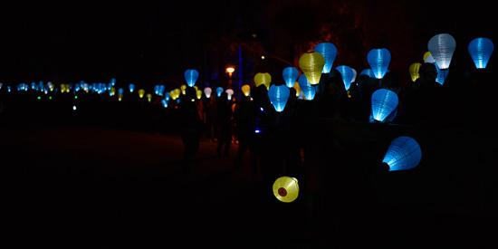Giving Hope #LightTheNight