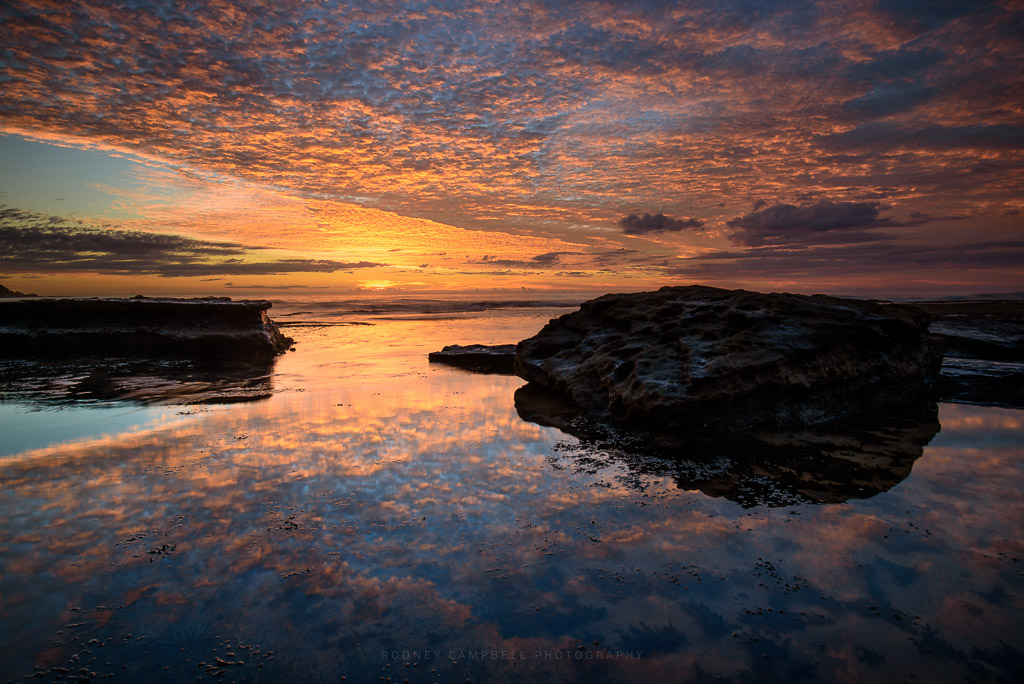 Still Water Reflections at Bilgola... - Rodney Campbell's ...